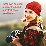 8 Pieces Silky Durag Caps Long Tail Headwraps Silk