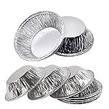 Aluminum Foil Disposable Egg Tart Mold, Mini Pie