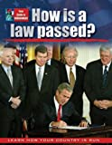 How Is a Law Passed?, Susan Bright-Moore and Baron Bedesky, 0778743268