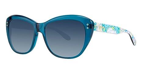 Lilly Pulitzer MONTEREY SUN 55 Ocean Blue at Amazon Womens ...