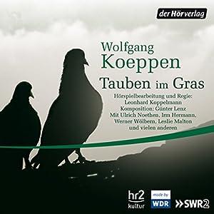 Tauben im Gras Performance