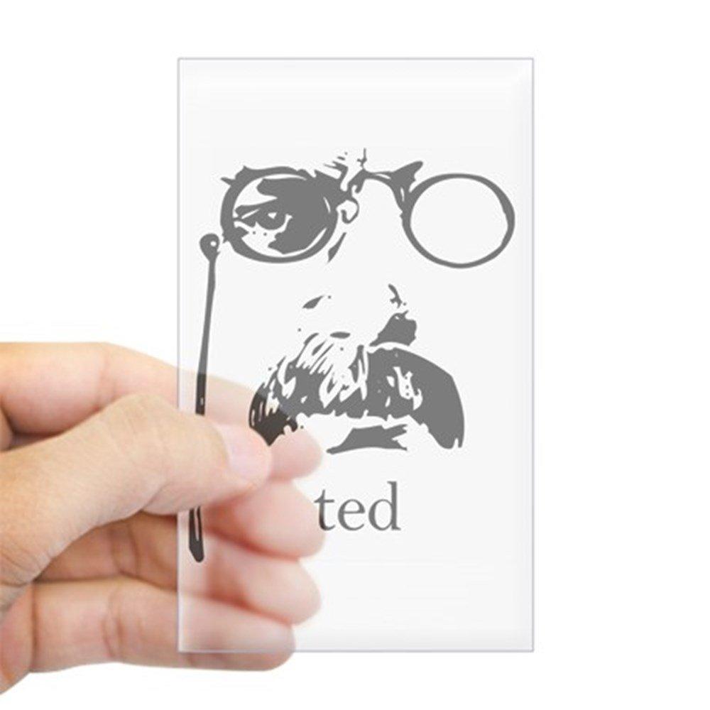 人気デザイナー CafePress – - Teddy クリア Roosevelt長方形ステッカー – 長方形バンパーステッカー車デカールステッカー - Small - 3x5 クリア 0098174956BB06F Small - 3x5 クリア B00Q62K9I4, ラディアンヌ:52d277e1 --- mvd.ee