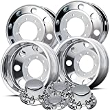 Accuride 19.5'' Polished Wheel Package 8 on 275mm GM or Chevy c4500 / c5500