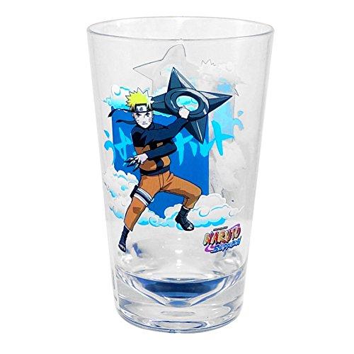 Naruto Shippuden OFFICIALÂ Naruto Shadow Clone Jutsu! PREMIUM Acrylic Pint Glass, 16oz (Best Naruto Fight Episodes)