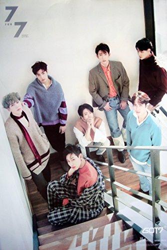GOT7 7 FOR 7 Korean Boy Band Kpop Wall Decoration Poster (#040)