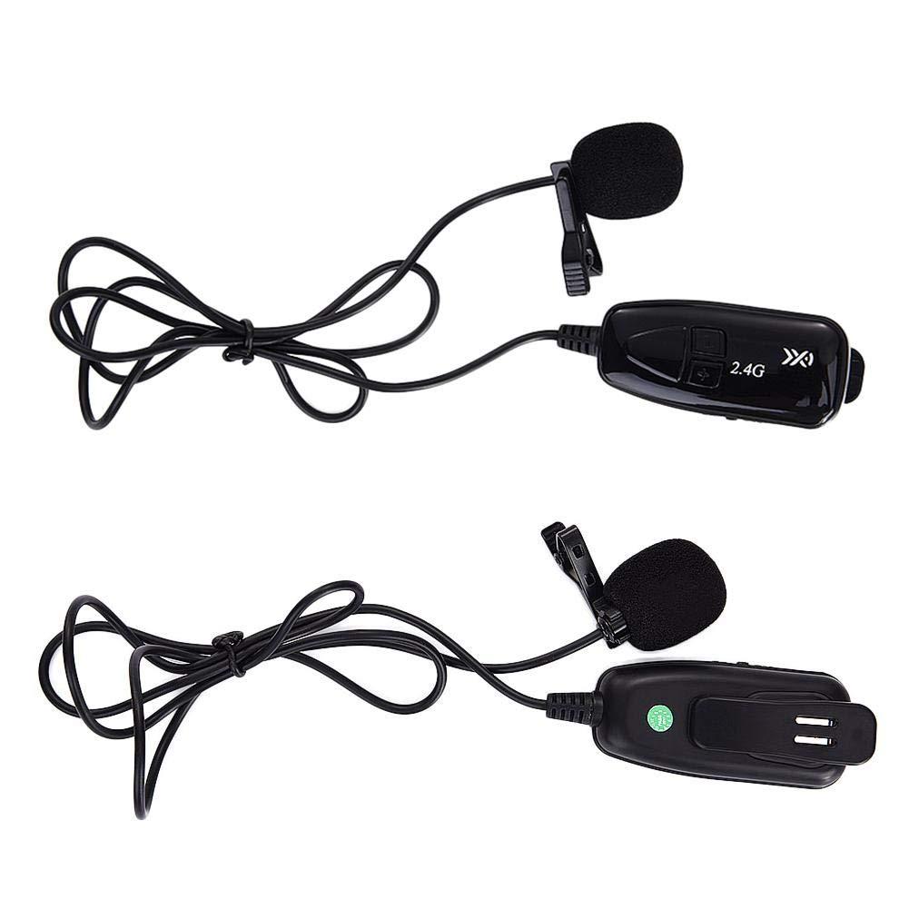 Micrófono Inalámbrico, Micrófono Altavoz Auricular y Mano 2 En 1 ...