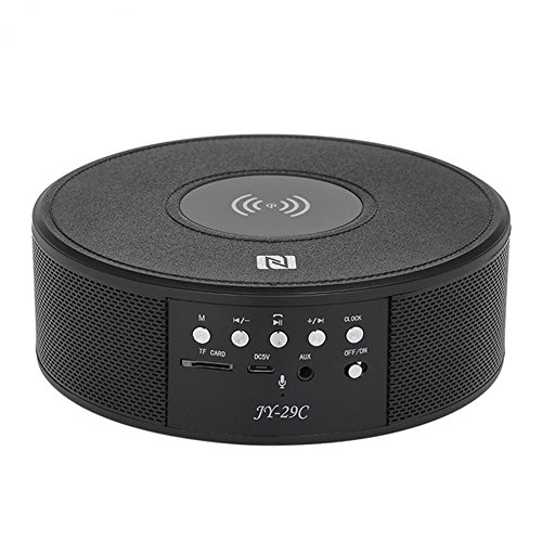 Bluetooth Speaker with Charging Station,Wireless Speaker Portable Stereo Sound Build-in Mic & TF Card for Car Home Party Travel Support iPhone X/8/Samsung S9 Plus and More Bluetooth Devices by Hulorry
