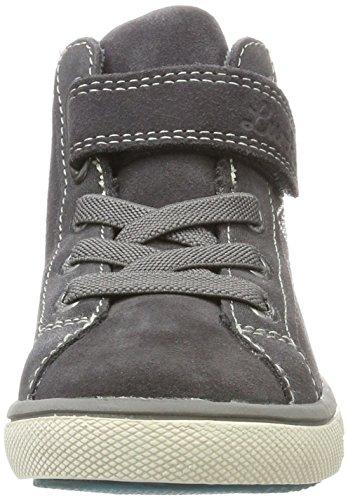 Lurchi 33-13610, Zapatillas con Velcro Niñas Gris (Charcoal)