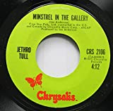 Jethro Tull 45 RPM Minstrel In The Gallery / Summer Day Sand