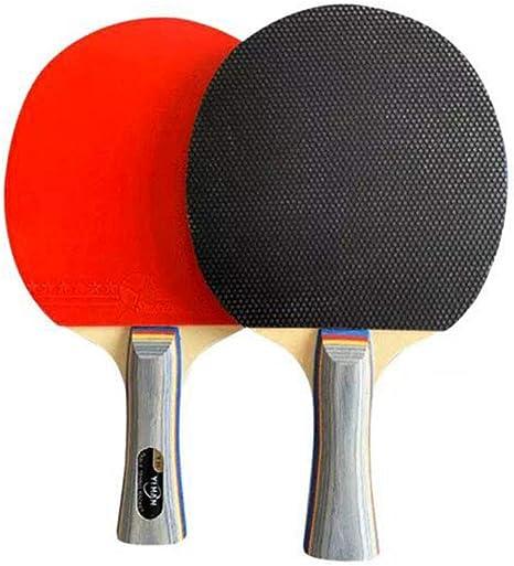 KUANDARPP Raqueta De Tenis De Mesa Ping Pong Madera Altamente ...