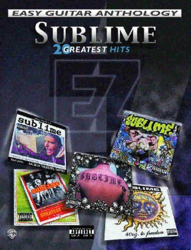 Download Sublime -- Easy Guitar Anthology: 20 Greatest Hits (Easy (EZ) Guitar Anthology) pdf epub