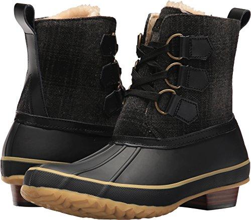 Chooka Women's Ballard Buffalo Duck Boot Black 7 M US