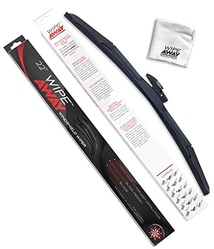 Wipe Away Windshield Wiper Blade - Silicone Windshield Wiper Blade - 22""