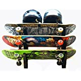 Northcore Store Your Own Board Skate Rack Skateboard Tool One Size Black