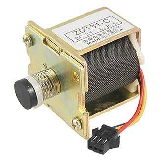 DealMux Piezas de GLP Gas Calentador de Agua Auto Absorción de la válvula solenoide DC 3V