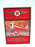 Wings of Texaco 1930 Travel Air Model R Mystery Ship Die Cast Model/Coin Bank - 5th in the Series by Texaco