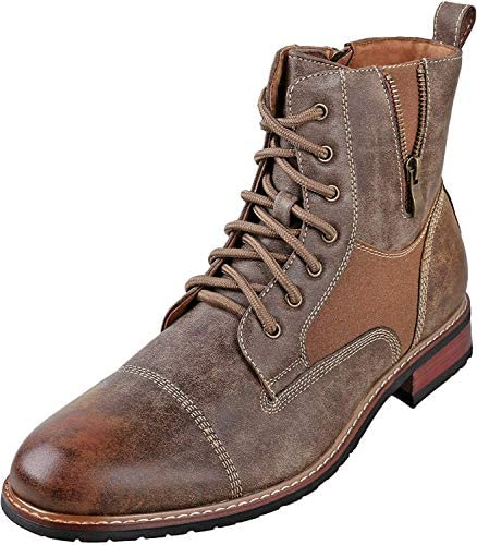 Ferro Aldo Andy Mens Ankle Boots | Combat | Lace Up | Fashion | Casual | Winter