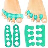 Best Toe Spreaders - Toe Separators by VIVE - Gel Pedicure Review