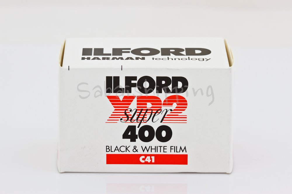 ILFORD XP2 SUPER 400 FILM B&W 35MM 36EXP C41 PROCESS (Pack of 10) by Ilford