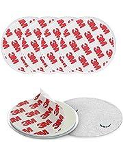 Navaris magnetische rookmelder montagepad, 3 Pack - magnetische kleefpads voor snelle en eenvoudige installatie van rookmelders - geen boren of schroeven