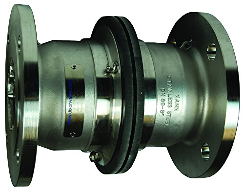 Dixon SBC600SSFL 316SS Industrial Breakaway 150# Flange x 150# Flange, 6