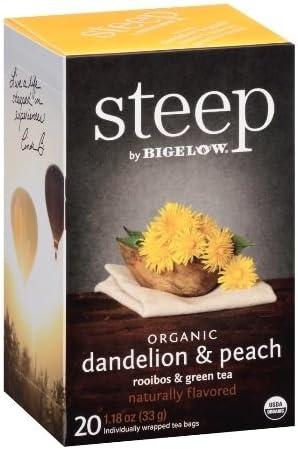 Bigelow 17715 Steep Dandelion Peach