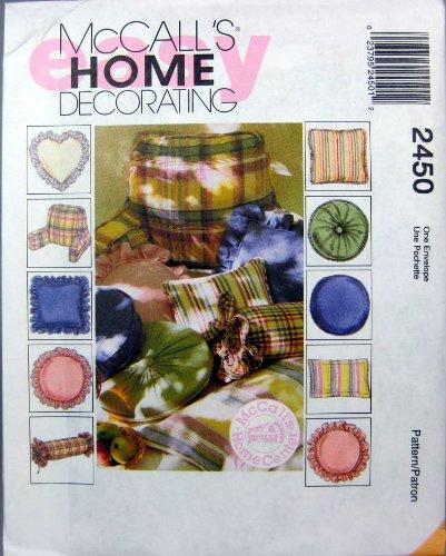 McCall's Patterns M2450 Pillow Essentials