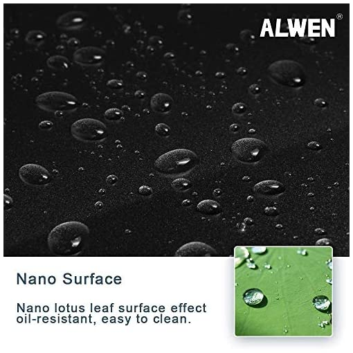 Kitchen ALWEN 33″ x 21″ x 10″ Undermount Kitchen Sink 16 Gauge Stainless Steel Single Bowl Kitchen Sink Gunmetal Black Nano Surface Modern Luxury Sink modern kitchen sinks