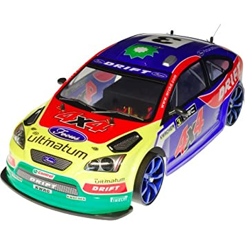 4wd Rc Remote Radio Control Ford Focus Ultimate Drift Racing Car 1