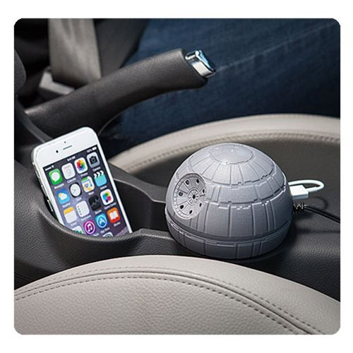 Amazon.com: Star Wars Death Star USB Car Charger: Cell Phones ...