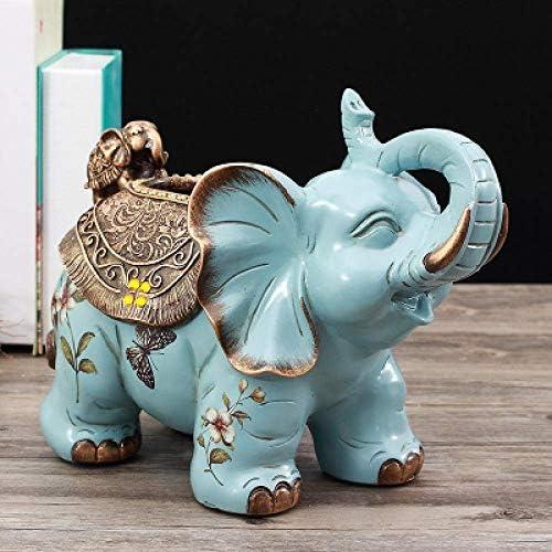 BZM-ZM ジュエリーアートクラフト象紙箱ティッシュボックスリビングルームのコーヒーテーブルの装飾