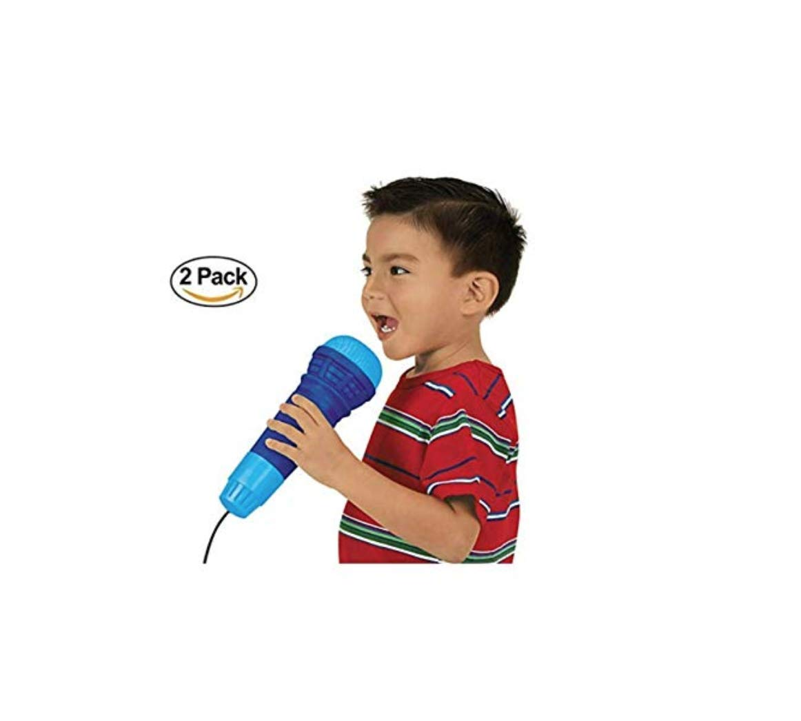 2 Echoing Microphone Sing Toy. Echo Microphones. Kids Microphone Toy. Children's Singing Toy. Shout Scream Cheering Toy.
