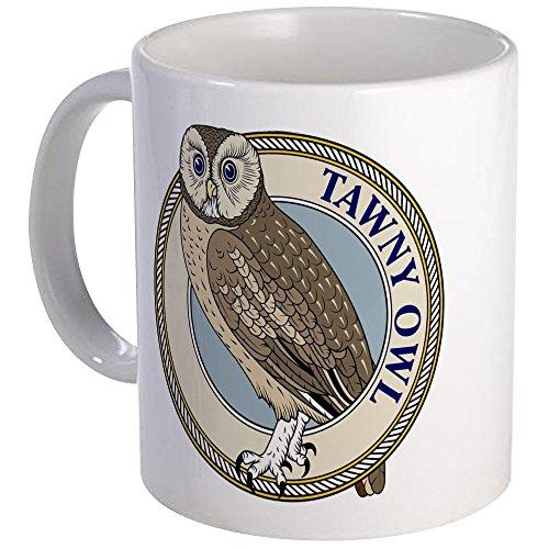 - CafePress - Tawny Owl Mug - Unique Coffee Mug, Coffee Cup