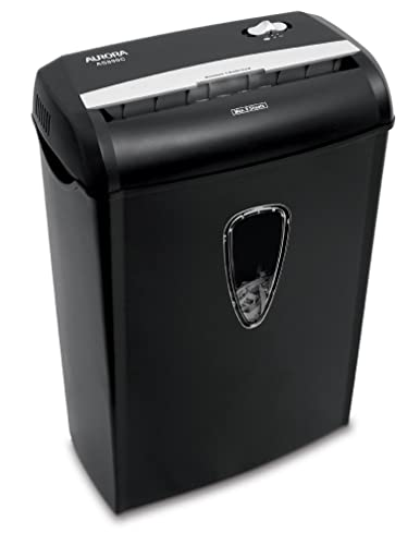 Aurora AS890C 8-Sheet Crosscut Paper/ Credit Card Shredder with Basket