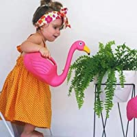 DEJUHUI Flamingo Watering Can for Kids Water Sprayer for Gardening (Pink) Exquisite Beautiful Lovely