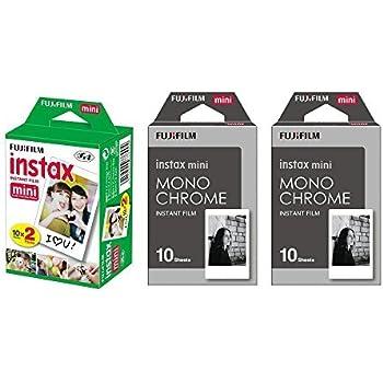 Amazon.com: Fujifilm Instax Mini Instant Film - Juego de 3 ...