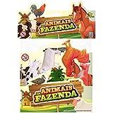 Animais da Fazenda com 5 Animais e 2 Acessórios Art Brink