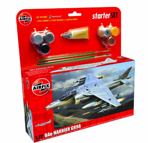 Airfix 1:72 Bae Harrier GR9 Gift Set