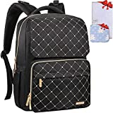 Diaper Bag Backpack, Bamomby Multi-Function Waterproof Travel Backpack Nappy Bags for Mom,Dad with Insulated Pockets,...