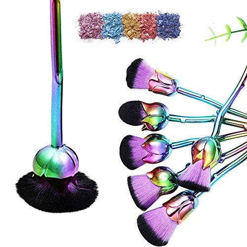 Rose Brushes Rose Makeup Brush 6PCS Set Enchanted