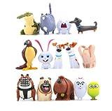Best Lifes Of Pets - 14 PCs The Secret Life of Pets PVC Review