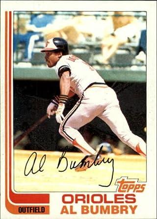 Amazoncom 1982 Topps Baseball Card 265 Al Bumbry Near Mint