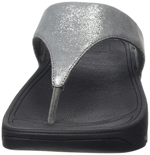 pewter Sandalias Gris Fitflop Mujer Shimmersuede Para Lulu 054 w1qWZ7A4x