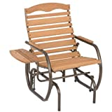 Jack Post CG-21Z Country Garden Glider Chair with Tray, Bronze