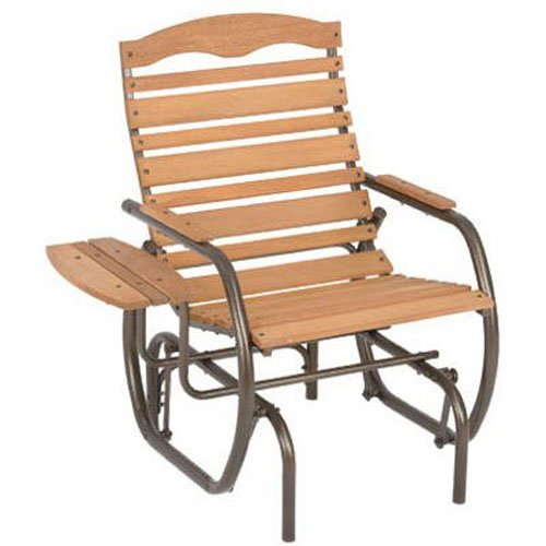 Post Glider (Jack Post CG-21Z Country Garden Glider Chair with Tray, Bronze)
