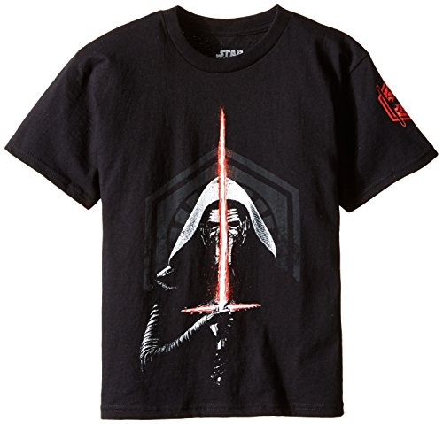 Star Wars Little Boys' Toddler Kylo Ren T-Shirt, Black, 2T