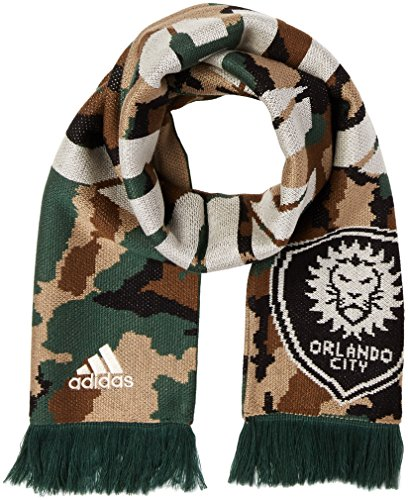 MLS Orlando City SC Adult Jacquard Scarf, One Size, Camo
