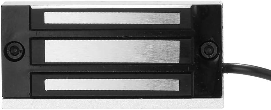 OWSOO DC12V 60kg 100lbs Serrure /électronique de Serrure dacc/ès de Porte /électronique de Serrure Magn/étique /électrique Serrures /à S/écurit/é /électromagn/étique