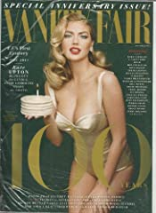 Vanity Fair Magazine (Oct 2013) 100th Anniversary Issue - Kate Upton