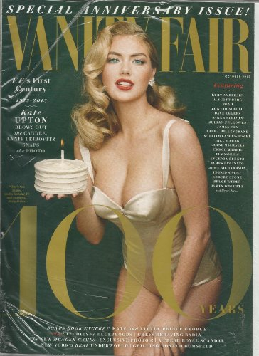 Vanity Fair Magazine (October, 2013) Kate Upton Cover